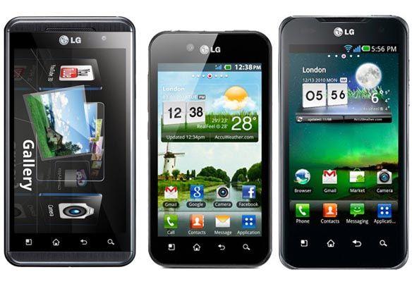 modelli dei cellulari LG