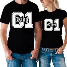 maglietta king queen vendita online