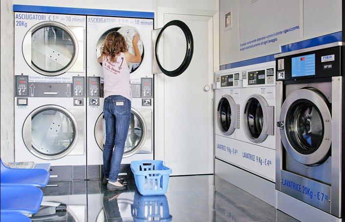 aprire lavanderia a gettoni